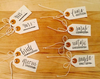I DO! ~ small gift tags