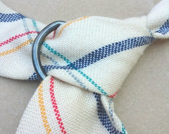 Upcycled necktie belt