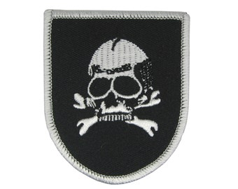 Adhesive patch Jolly roger Skull