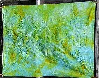 Hand Dyed Fabric- OOAK- 1 yard #11004