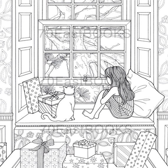 The Night Voyage The Present Coloring Book By Daria Song