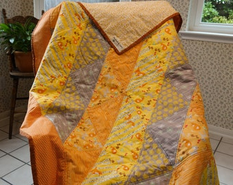 Sunny Forest Friends Quilt