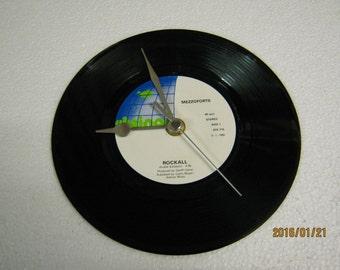 "Mezzoforte - ""Rockall"" Vinyl Record Wall Clock"
