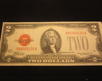 Small Two Dollar Note Series Of 1928 F1505