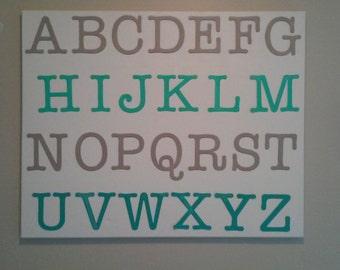 Alphabet Canvas