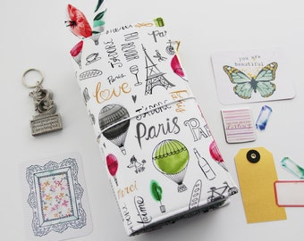 Paris Adventure Fabric TN Cover