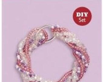 DIY bracelet, easily turned pearl bracelet itself produce - crafts set