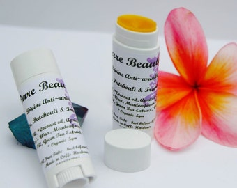 Anti Wrinkle Stick with Rosehip oil, carrot seed oil, meadow foam seed oil, apricot oil, vitamin E