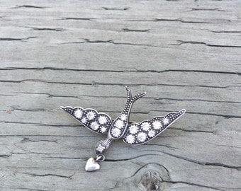 Sweet bird pin!