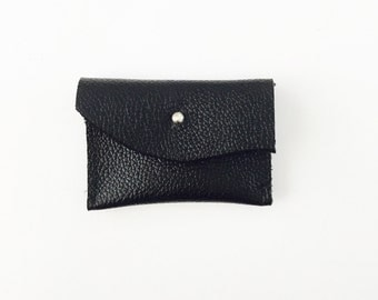 Leather coin pouch petite