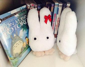 Small white Totoro