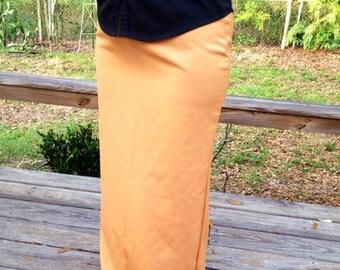 Mermaid back Long pencil skirt