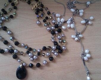 2 LDADPR bead necklaces