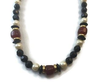 Mahogany Treasure Necklace