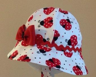 Baby Hat - Baby Girl Sun Hat - Baby Girl Hat