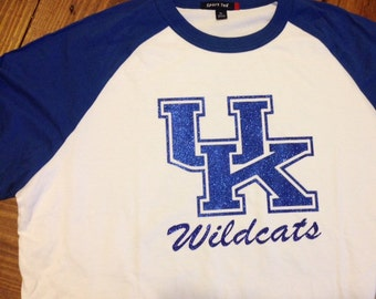 UK Wildcats Baseball Tee
