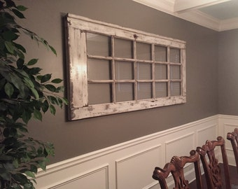 Pane Door-Rustic, Handcrafted and Aged