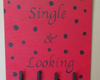Single sock sign
