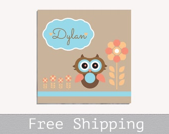 Baby Room Decor - Baby Canvas Room Decor - Custom Canvas Print - Personalized Gift - Nursery Decor - Wall Decor - Free Shipping