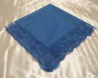 Handkerchief which may be used as a church lap throw.
