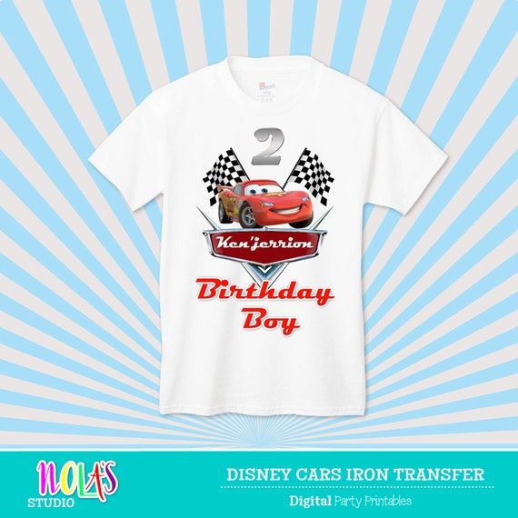 Disney Cars T Shirt Transfer This Listing Is For By