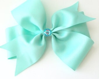 Large 5 inch Girls Hair  Bow - item number  L006