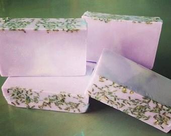 Lavender Vanilla Soap Bars- Handmade