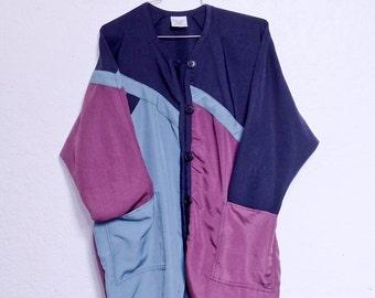 Vintage oversized button up jacket.