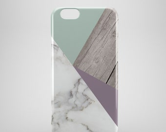 Wood effect Marble iPhone Case, iPhone 6 case, Marble Iphone 6 Plus case, Marble Iphone 5 case, Marble iPhone 5C case, iPhone SE case
