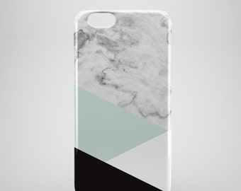 Geometric Marble iPhone Case, iPhone 6 case, Marble Iphone 6 Plus case, Marble Iphone 5 case, Marble iPhone 5C case, iPhone SE case