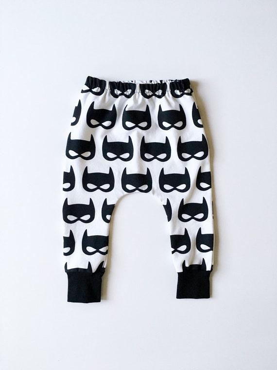 Baby Boy Batman Harem Pants Toddler Superhero Leggings