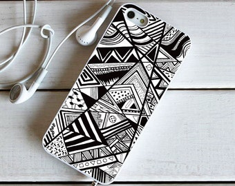 Pattern Doodle, iPhone Case Personalized, iPhone Case Custom, iPhone 4 4S / iPhone 5 5S / iPhone 5C / iPhone 6 6P, #47