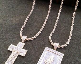 Men's Pendant Gold necklace