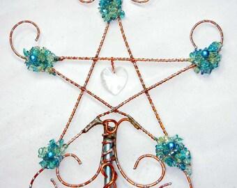 Magic Wand or Fairy Wand in Bright Blues