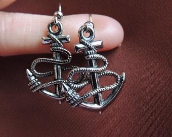 Beautiful Nautical Anchor Earrings