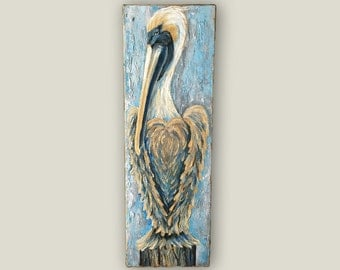 "10""x30"" Pelican Painting"