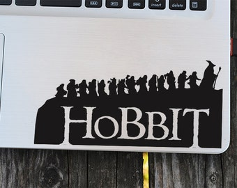 Hobbit decal, lord of the rings decal, vinyl decals, macbook decal, wall sticker, car decal, ipad decal