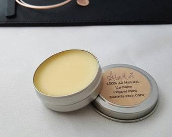 100% all natural lip balm (.5 oz tin)