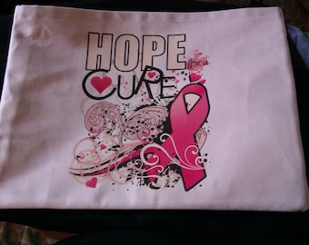 Hope Ribbon Tote Bag