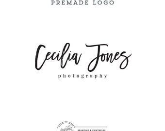 Calligraphic Logo Design, Premade Business Logo, Calligraphy Logo, Minimal Logo, Feminine Branding, Premade Logo Design, Logo and watermark