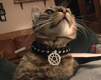 Made to order para cord cat collar
