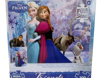 Disney Frozen Friends Sisters Forever 300 Piece Puzzle by Mega Puzzles
