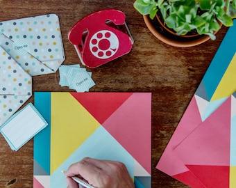 Paper folding set of 10
