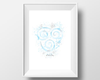 Avatar, The last airbender, air, Print * Instant Download *