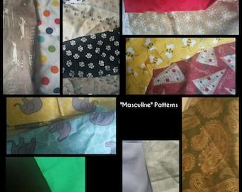 Handmade, hand sewn Hair Bows