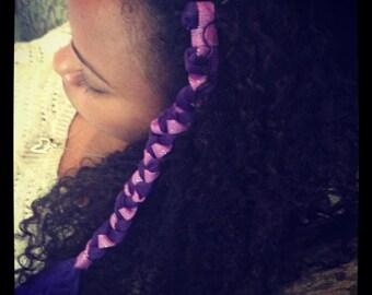 braided hair accessory