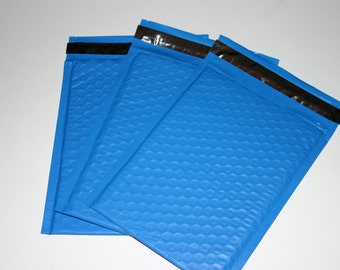 25 6x9 Blue Bubble Mailers Size 0 Self Sealing Shipping Envelopes Spring Easter