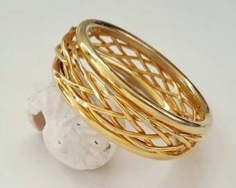 Bold Bangle Bracelet