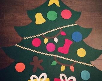 PRE-ORDER: Toddler/Childrens felt christmas tree
