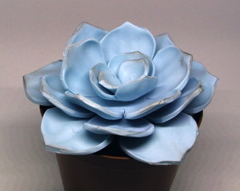 Gumpaste Succulent Large Wedding Cake Topper Cake Decoration Gumpaste Flower